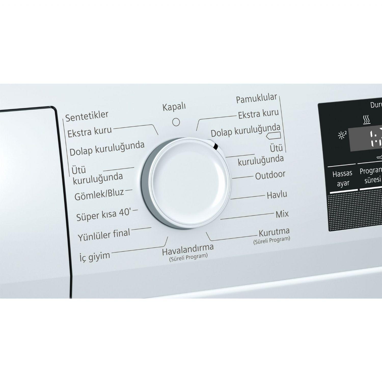 Siemens WT45RV00TR A++ 8 kg Kurutma Makinesi | Çamaşır Kurutma Makinesi |  Veyisoğlu Grup-Alışverişin Güvenli Adresi
